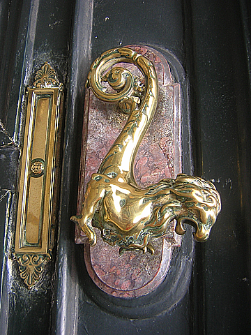 soufflot door handle