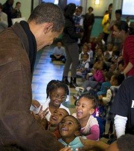 Obama:kids