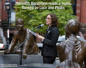 Meredith reads