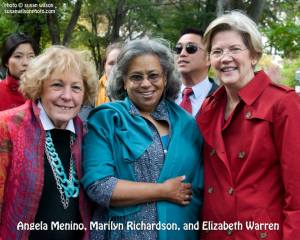 With Senator Warren