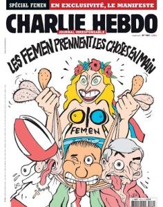 FEMEN charlie hebdo