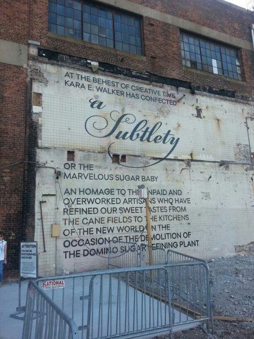 KARA Walker wall sign
